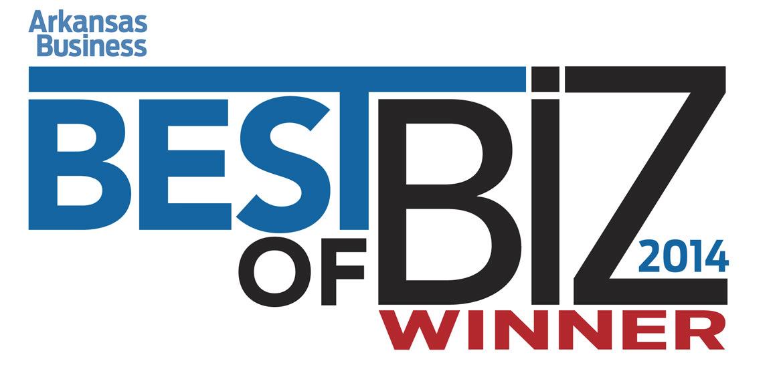 Arkansas Business Best of Biz 2014 Winner