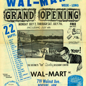 Wal-Mart at 50: A Not-So-Short History  Of the World's Largest Retailer